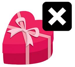 Deiner oder deinem Ex Geschenke machen ist ein absolutes Tabu