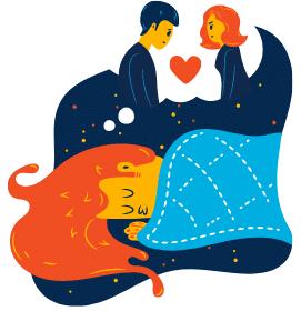 Du träumst von deiner ersten großen Liebe