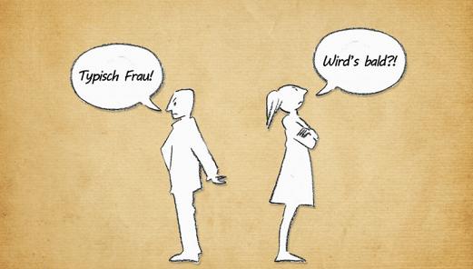 Wenn die Beziehung Problme bekommt