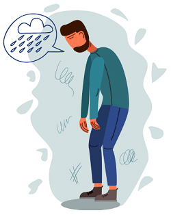 Wie sehen depressive Menschen die Welt?
