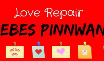 Die Love Repair Liebes Pinnwand